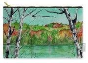 Maine's Autumn Finery Carry-all Pouch