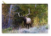 Majestic Bull Elk Survivor In Colorado  Carry-all Pouch