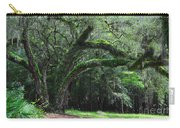 Majestic Fern Covered Oak Carry-all Pouch