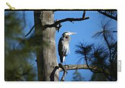 Majestic Great Blue Heron 1 Carry-all Pouch