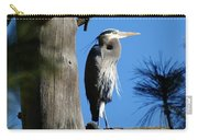 Majestic Great Blue Heron 2 Carry-all Pouch