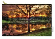 Majestic Sunrise Reflections Art Carry-all Pouch