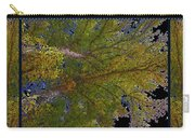 Majestic Trees Abstract Poster 2 Carry-all Pouch