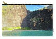 Majestic Wall Western Kauai Carry-all Pouch