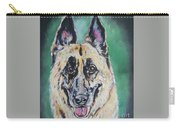 Major, The German Shepherd  Carry-all Pouch