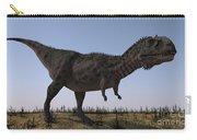 Majungasaurus In A Barren Environment Carry-all Pouch
