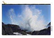 Makapu'u Lava Rock Splash Carry-all Pouch