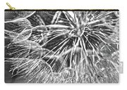 Make A Wish B / W Carry-all Pouch