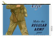 Make The Regular Army Your Career Carry-all Pouch