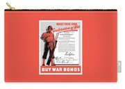 Make Your Own Declaration Of War Carry-all Pouch