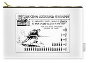 Making America Strong Cartoon Carry-all Pouch