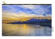 Makrygialos Sunset Digital Painting Carry-all Pouch