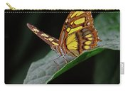 Malachite Butterfly Carry-all Pouch