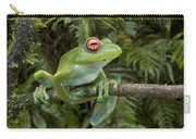 Malagasy Web-footed Frog Boophis Luteus Carry-all Pouch