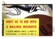 Malaria Mosquito Carry-all Pouch by War Is Hell Store