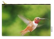 Male Allen's Hummingbird Carry-all Pouch