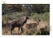 Male And Female Mountain Nyala Carry-all Pouch