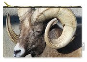 Male Bighorn Sheep Ram Carry-all Pouch