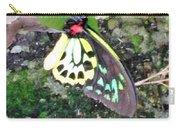 Male Birdwing Butterfly Carry-all Pouch