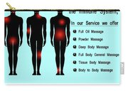 Male Body Massage In Ncr Carry-all Pouch