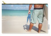 Male Bodyboarder Carry-all Pouch