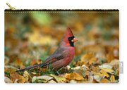 Male Cardinal Cardinalis Cardinalis Carry-all Pouch