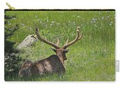 D10270-male Elk  Carry-all Pouch
