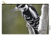 Male Hairy Woodpecker Carry-all Pouch