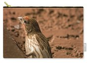 Male House Finch V10 Carry-all Pouch