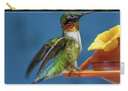 Male Hummingbird Spreading Wings Carry-all Pouch