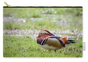 Male Mandarin Duck At Black Mountain Carry-all Pouch