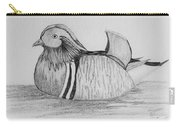 Male Mandrain Duck  Carry-all Pouch