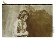 Male Nude Carry-all Pouch