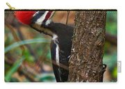 Male Pileated Woodpecker Carry-all Pouch