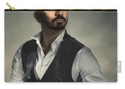 Male Portrait Carry-all Pouch