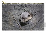 Male River Otter Carry-all Pouch