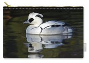Male Smew Carry-all Pouch