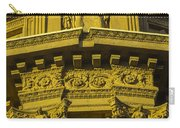 Male Statue Palace Of Fine Arts Carry-all Pouch