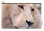 Male White Lion ... Thabo Carry-all Pouch