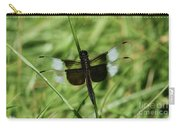 Male Widow Skimmer Dragonfly #4 Carry-all Pouch