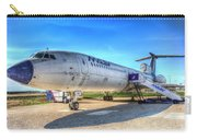 Malev Airlines Tupolev Tu-154 Carry-all Pouch