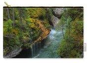 Maligne Canyon Falls Jasper National Park Carry-all Pouch
