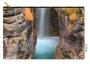 Maligne Canyon Falls Vertical Panorama Carry-all Pouch