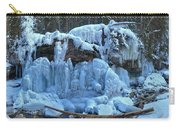 Maligne Canyon Winter Wonders Carry-all Pouch