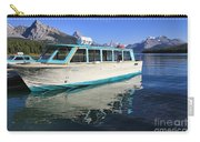 Maligne Lake Tour Boat Reflection Carry-all Pouch