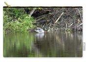 Mallard And Beaver Den Carry-all Pouch