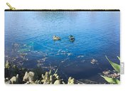 Mallard And Cypress Knees Carry-all Pouch