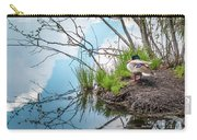 Mallard At Silver Lake Carry-all Pouch
