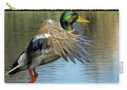 Mallard Digital Freehand Painting 3 Carry-all Pouch