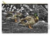 Mallard Duck A4 Carry-all Pouch